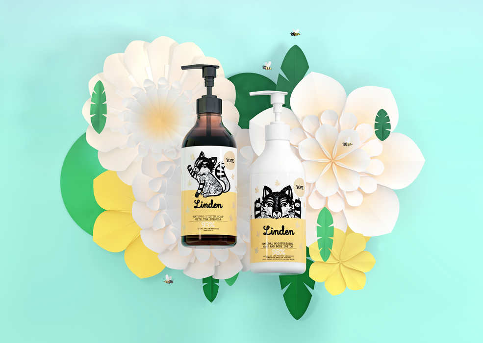 Linden Natural hand and body lotion